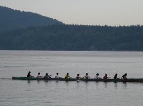 lummi tribe canoe